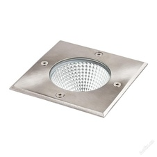 RIZZ SQ 125  nerez 230V LED 7W IP67  3000K - RED - DESIGN RENDL