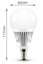 Mi-Light LED žárovka CCT E14 5W
